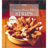 Iceland Hot & Spicy Chicken Breast Fillet Strips 1Kg