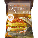 Iceland Hot & Spicy Chicken Breast Quarter Pounders 565g