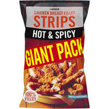 Iceland Hot and Spicy Chicken Breast Fillet Strips 2.1kg