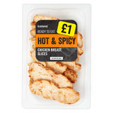 Iceland Hot and Spicy Chicken Breast Slices 115g