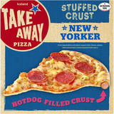 Iceland Hot Dog Stuffed Crust New Yorker Pizza 551g