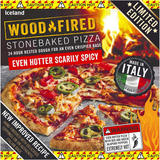 Iceland Hotter Scarily Spicy Stonebaked Pizza 359g