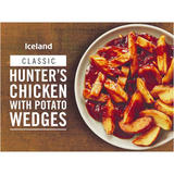 Iceland Hunter's Chicken with Potato Wedges 400g