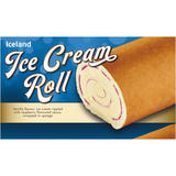 Iceland Ice Cream Roll 250g