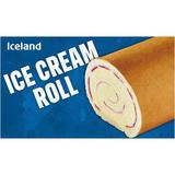 Iceland Ice Cream Roll 250g