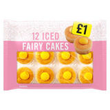 Iceland Iced Fairy Cakes 12 pack