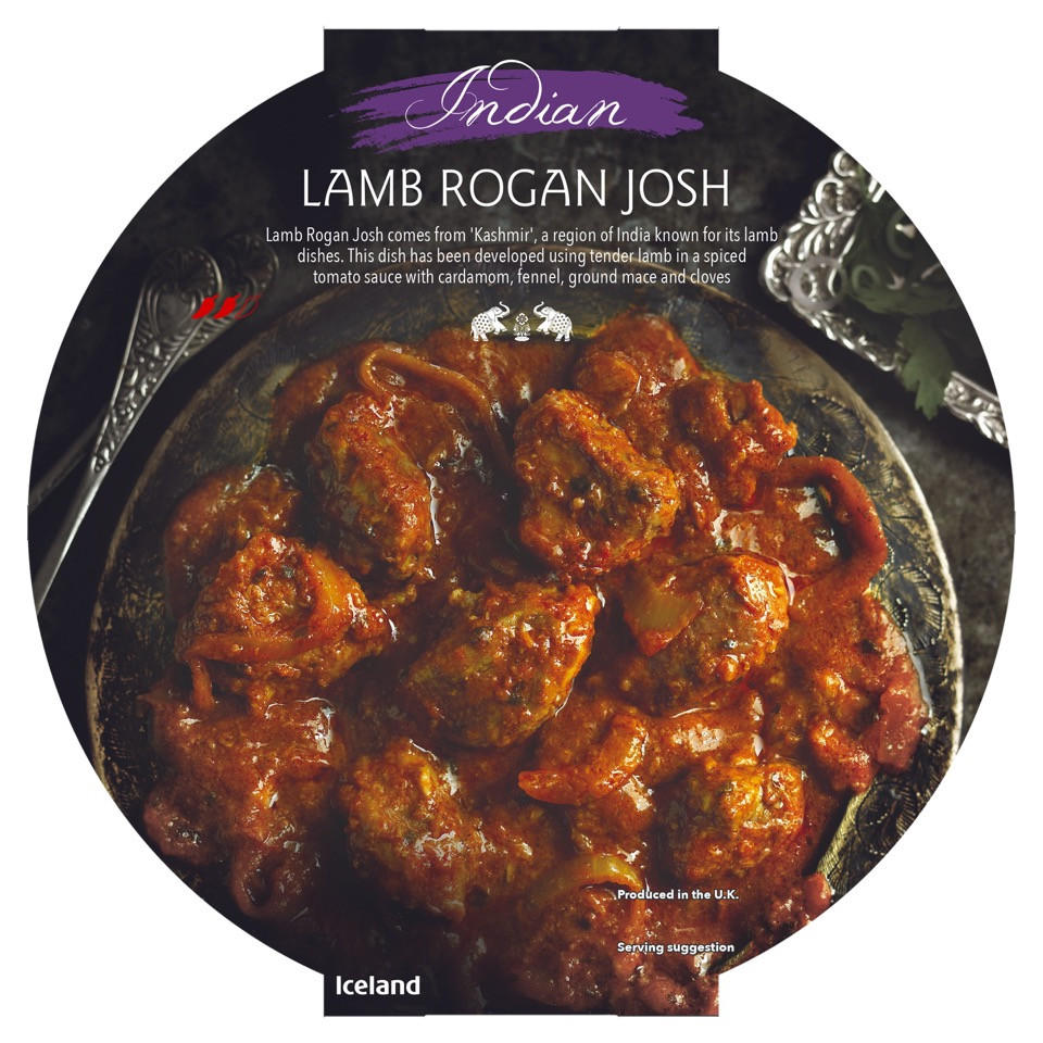 Iceland Indian Lamb Rogan Josh 400g Indian Iceland Foods