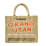 Iceland Jute Bag Orangutan