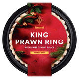 Iceland King Prawn Ring with Sweet Chilli Sauce 300g