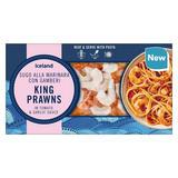 Iceland King Prawns in Tomato & Garlic Sauce 300g