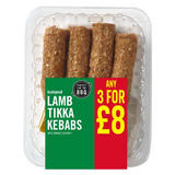 Iceland Lamb Tikka Kebabs with Mango Chutney