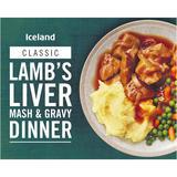 Iceland Lamb's Liver Mash & Gravy Dinner 450g