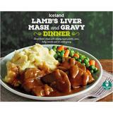 Iceland Lamb's Liver Mash and Gravy Dinner