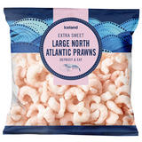 Iceland Large North Atlantic Prawns 200g