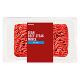 Iceland Lean Beef Steak Mince 360g