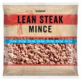 Iceland Lean Steak Mince 475g