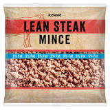 Iceland Lean Steak Mince 5% 475g