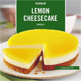 Iceland Lemon Cheesecake 470g