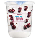 Iceland Low Fat Cherry Yogurt 500g