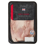 Iceland Luxury 100% British Pork Finely Sliced Dry Cured Cooked Ham 100g