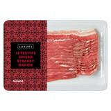 Iceland Luxury 12 Festive Spiced Streaky Bacon 200g