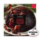 Iceland Luxury 12 Month* Matured Christmas Pudding 400g