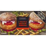 Iceland Luxury 2 Truffle Chicken Burgers 284g