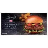 Iceland Luxury 4 Aberdeen Angus Quarter Pounders 454g