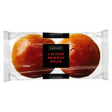 Iceland Luxury 4 Sliced Brioche Rolls