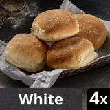 Iceland Luxury 4 Soft White Bread Rolls