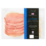 Iceland Luxury 6 British Outdoor Bred Dry Cured Unsmoked Back Bacon Rashers 200g