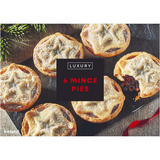 Iceland Luxury 6 Mince Pies