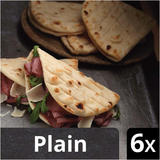 Iceland Luxury 6 Plain Folded Flatbreads 210g