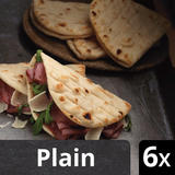 Iceland Luxury 6 Plain Folded Flatbreads