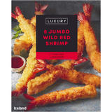 Iceland Luxury 8 Jumbo Wild Red Shrimp 352g