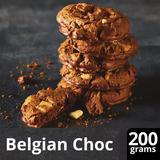 Iceland Luxury 8pk Quadruple Belgian Chocolate Cookies 200g