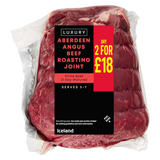 Iceland Luxury Aberdeen Angus Beef Roasting Joint