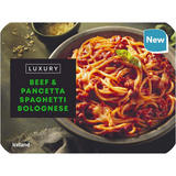 Iceland Luxury Beef & Pancetta Spaghetti Bolognese 450g