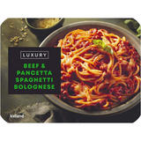 Iceland Luxury Beef and Pancetta Spaghetti Bolognese 450g