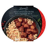 Iceland Luxury Beef Stifado with Red Pepper Rice 450g