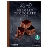 Iceland Luxury Belgian Chocolate Fudge 150g