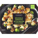 Iceland Luxury Brussels Sprouts with Bacon & Stilton® 600g
