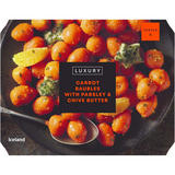 Iceland Luxury Carrot Baubles with Parsley & Chive Butter 400g