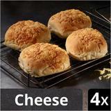 Iceland Luxury Cheese Topped Rolls 4 pack
