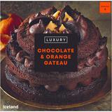 Iceland Luxury Chocolate and Orange Gateau 850g