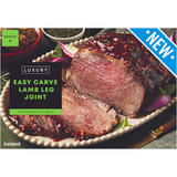 Iceland Luxury Easy Carve Lamb Leg Joint with Rosemary and Mint Glaze 800g