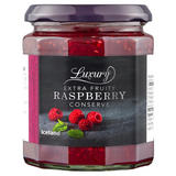 Iceland Luxury Extra Fruity Raspberry Conserve 340g