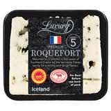 Iceland Luxury French Roquefort Cheese 100g