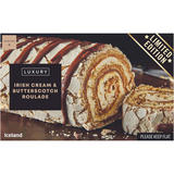 Iceland Luxury Irish Cream and Butterscotch Roulade 420g