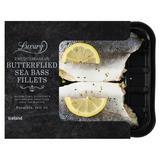 Iceland Luxury Mediterranean Butterflied Sea Bass Fillets 263g